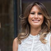 Les retrouvailles chaleureuses de Melania Trump et Brigitte Macron en Belgique