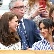 La famille royale et les people à Wimbledon
