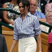 Meghan Markle fait un clin d'œil stylistique au Prince Harry à Wimbledon