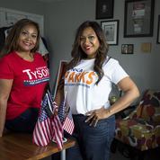 Aux États-Unis, des sœurs jumelles, unies dans la vie, rivales en politique