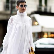 Une robe blanche, pour se marier ou juste pour l'été
