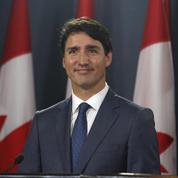 La fille de Justin Trudeau joue les boss dans le bureau de son père