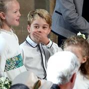 Le bisou de la princesse Charlotte et autres petites farces des enfants d'honneur au mariage d'Eugenie d'York