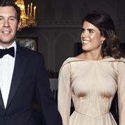 Une robe du soir Zac Posen pour la tenue de soirée de la princesse Eugenie