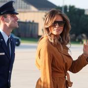 Melania Trump se rend en Afrique en solo alors que Washington est en pleine ébullition