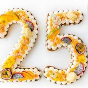 Number cake exotique