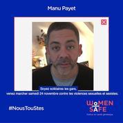 Manu Payet, Philippe Katerine, Guillaume Meurice... Dix hommes appellent à marcher ce 24 novembre