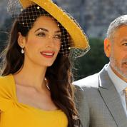 Amal et George Clooney, futurs marraine et parrain de l'enfant du prince Harry et de Meghan Markle