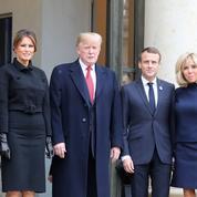 L'étonnante scène entre Donald et Melania Trump à l'Élysée