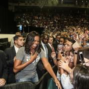 Michelle Obama, une mégastar à la conquête de l'Amérique