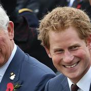 Cette photo du prince Charles, jeune et barbu, qui ressemble à Harry