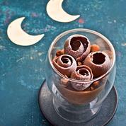 Mousse au chocolat, gianduja et praliné