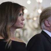 Melania Trump parle de son