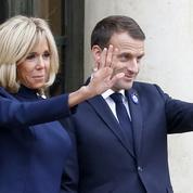 Ce parfum que Brigitte Macron emprunte à son président de mari