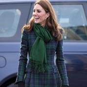 Ce manteau à carreaux que Kate Middleton porte depuis plus de sept ans