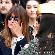 Caroline de Maigret au défilé Chanel :