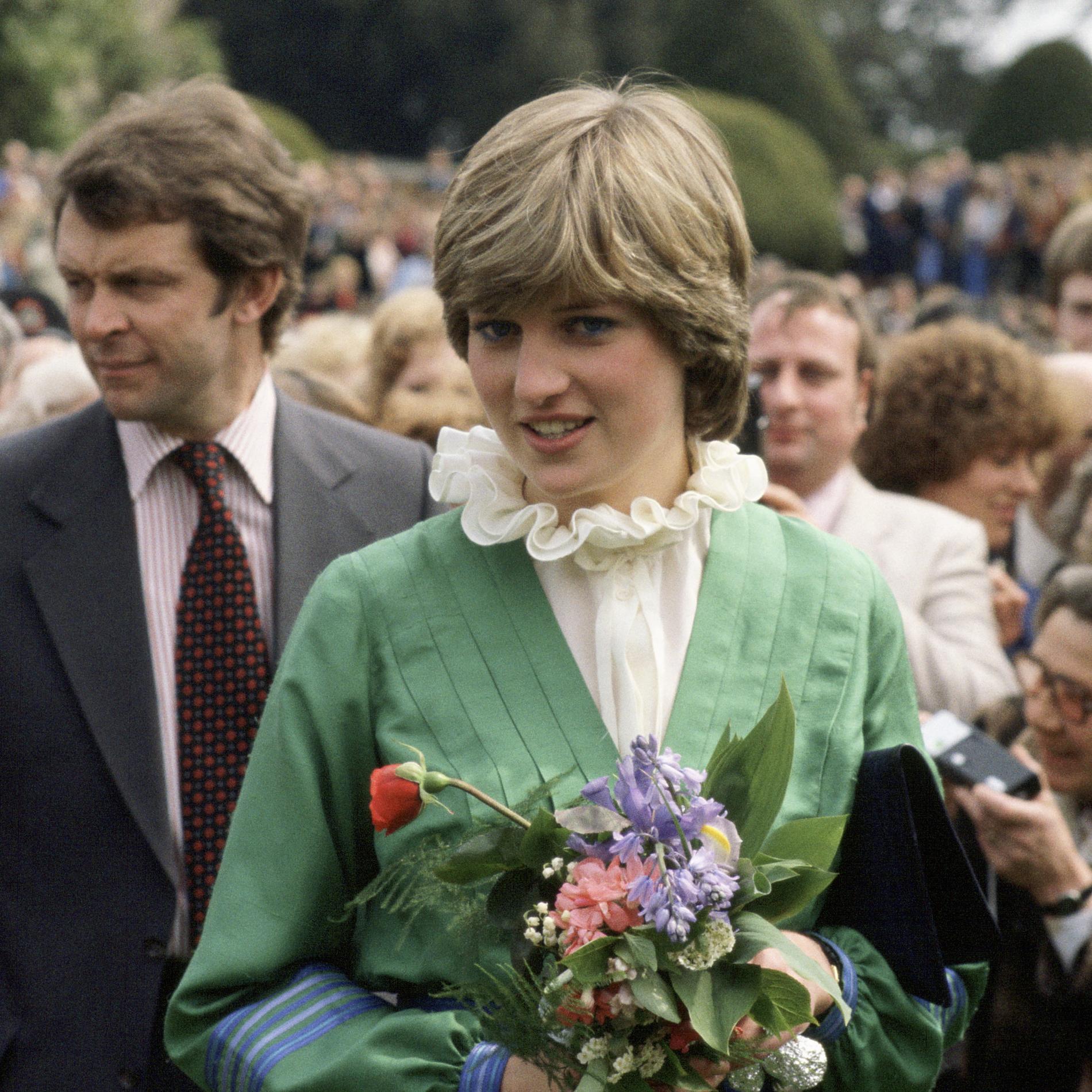 La blouse portée par Lady Diana pour ses fiançailles