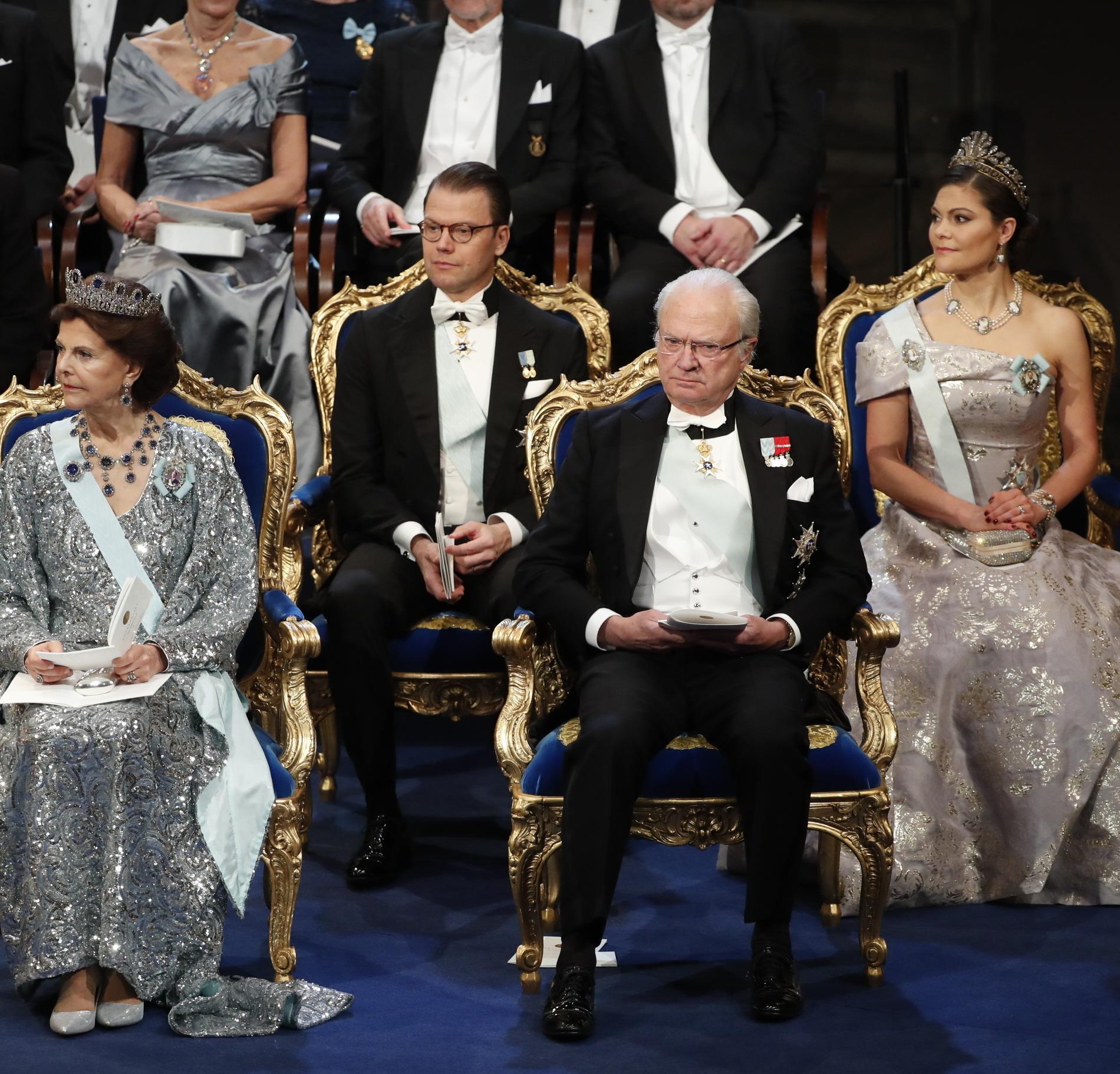 Les photos insolites des têtes couronnées - La famille royale de Suède