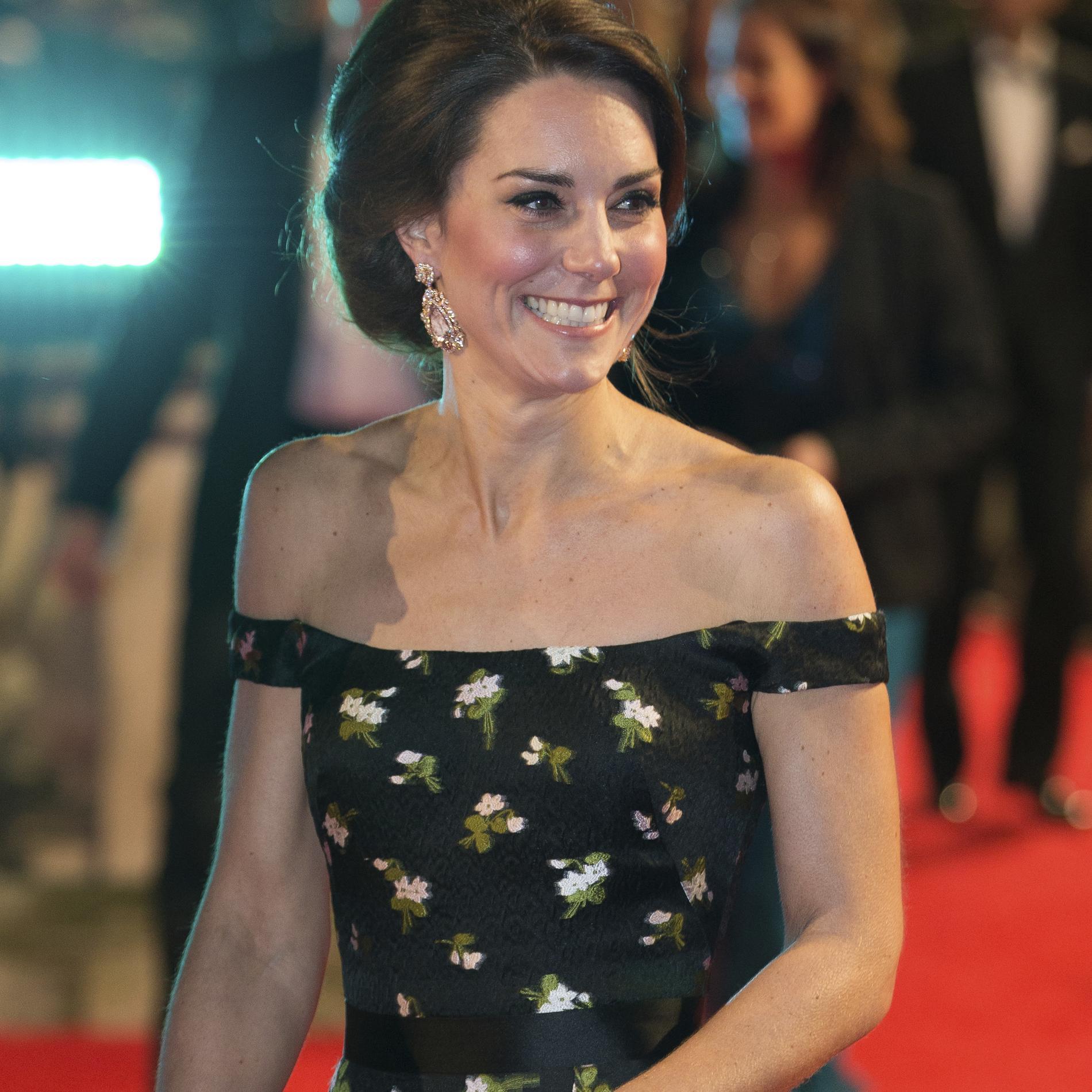 Kate Middleton, élégante aux Bafta