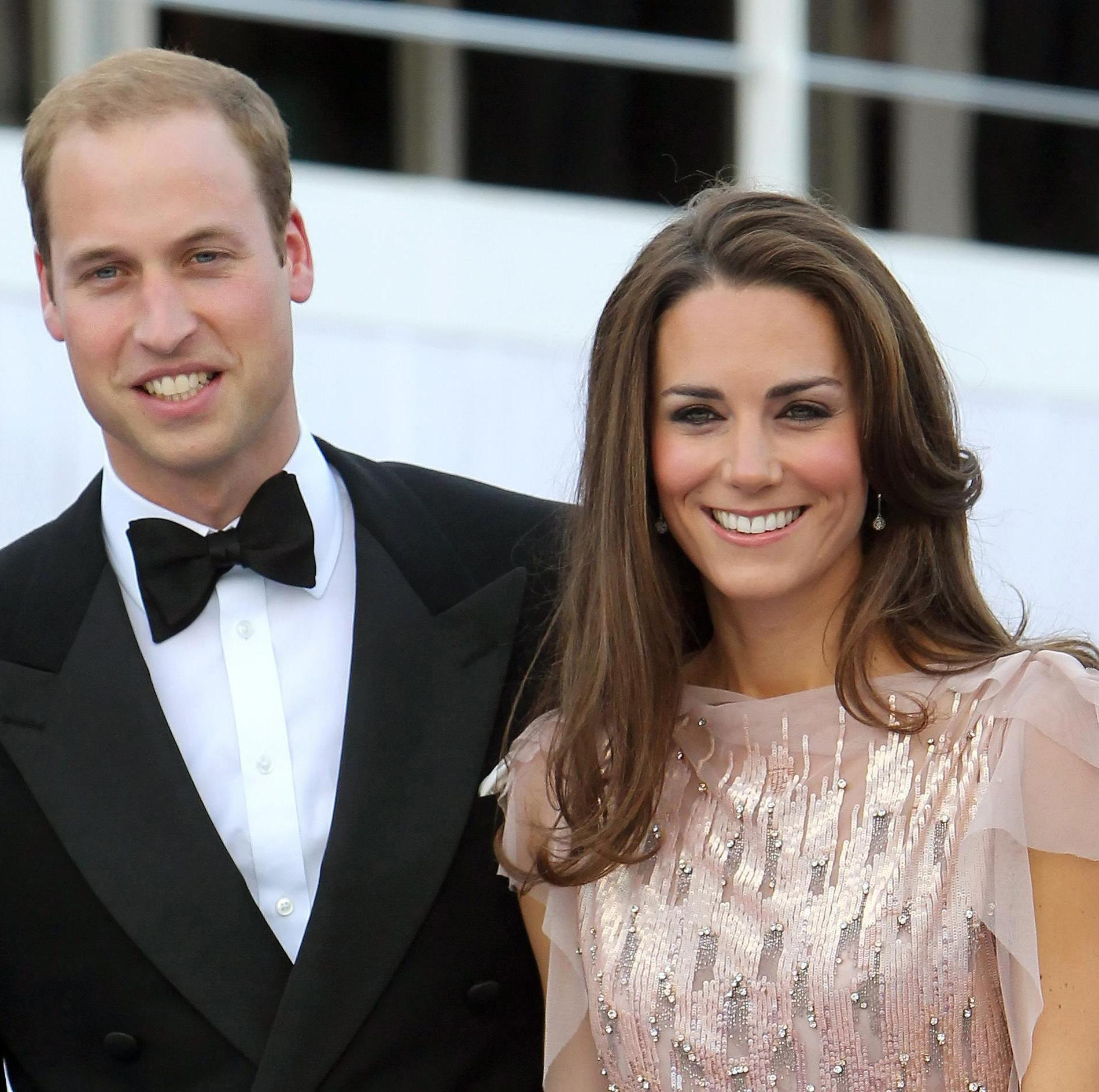 Kate Middleton et le prince William (Londres, 9 juin 2011.)