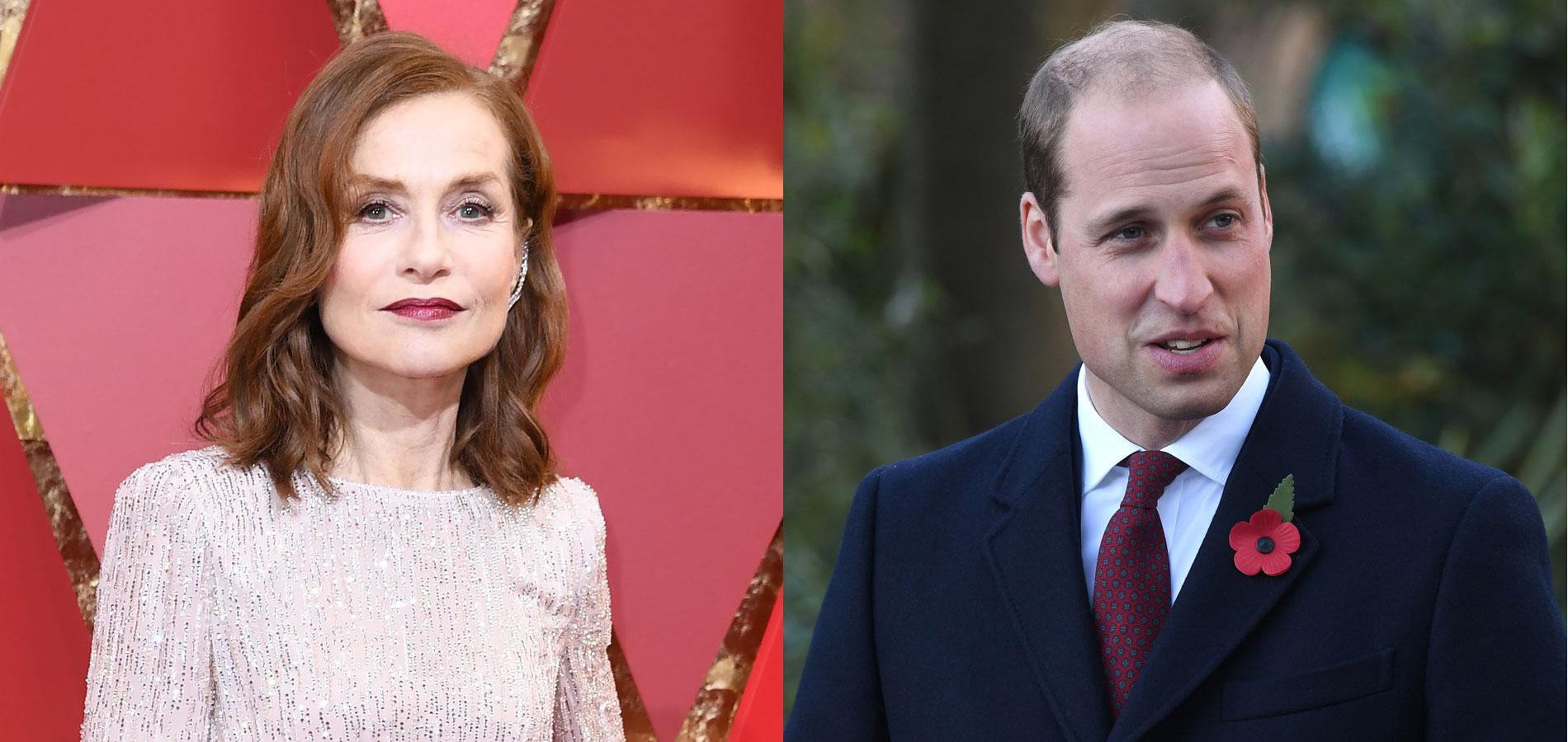 Prince William vs Isabelle Huppert : la battle de danse
