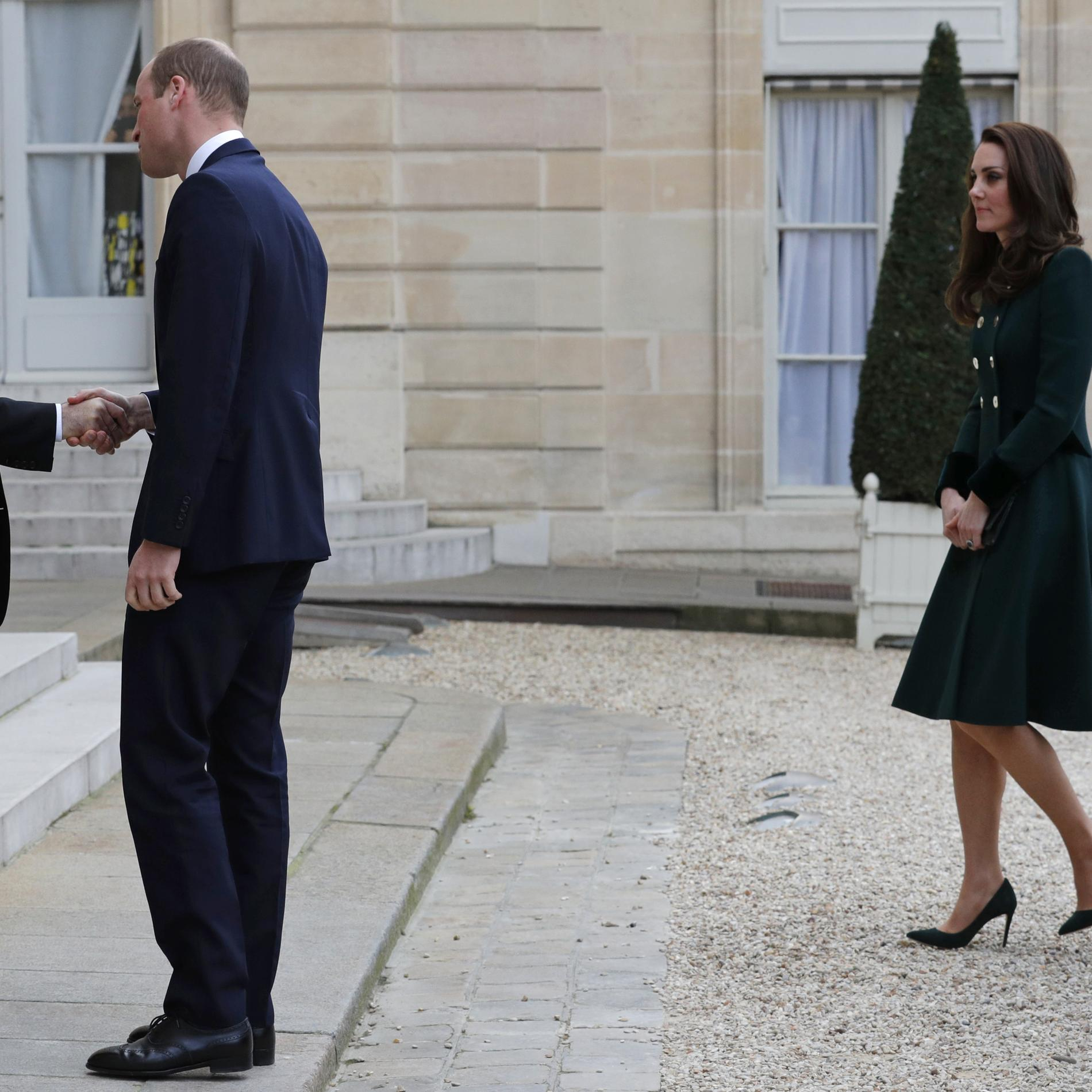 Les photos de Kate et William à Paris