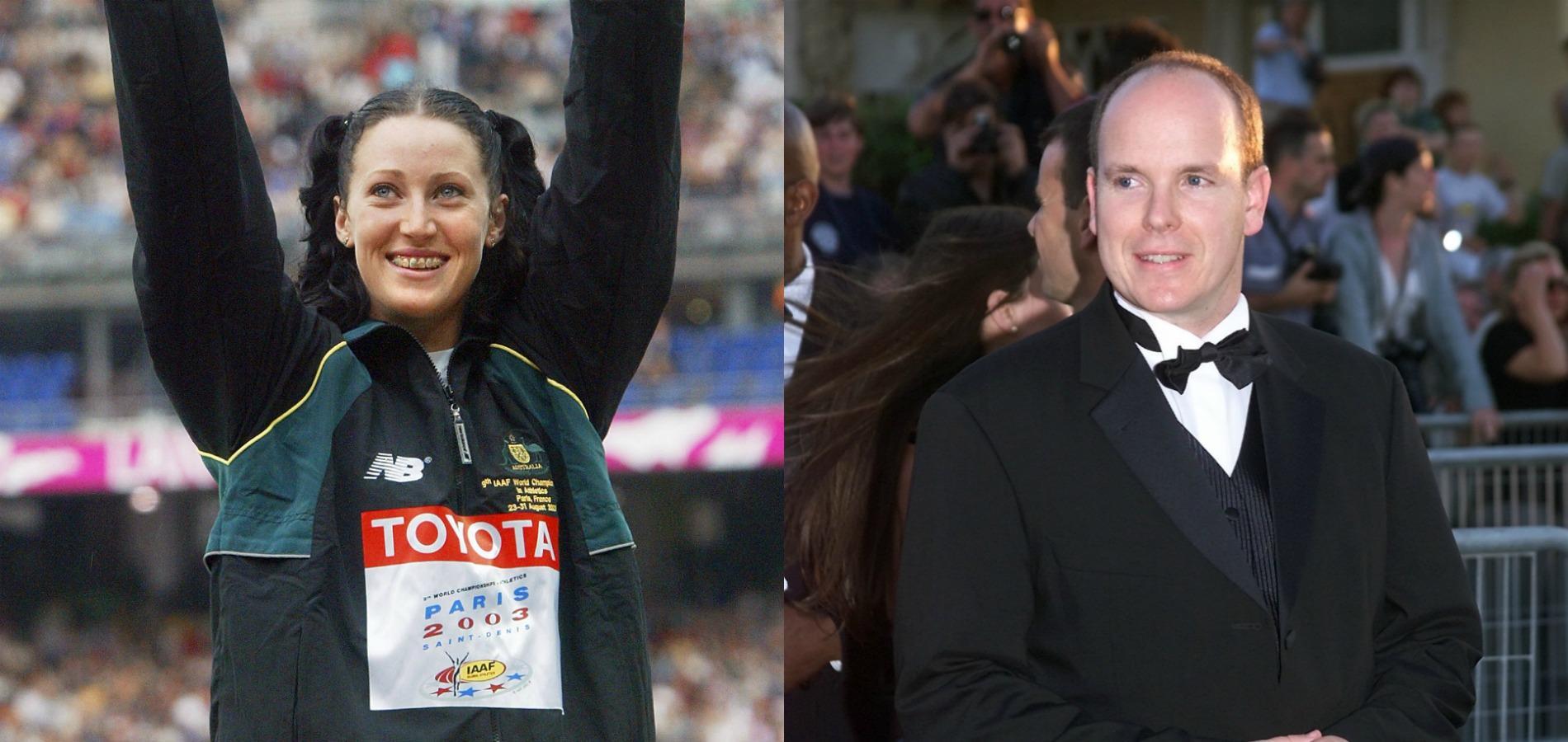 Une athlète australienne révèle sa courte relation avec Albert de Monaco