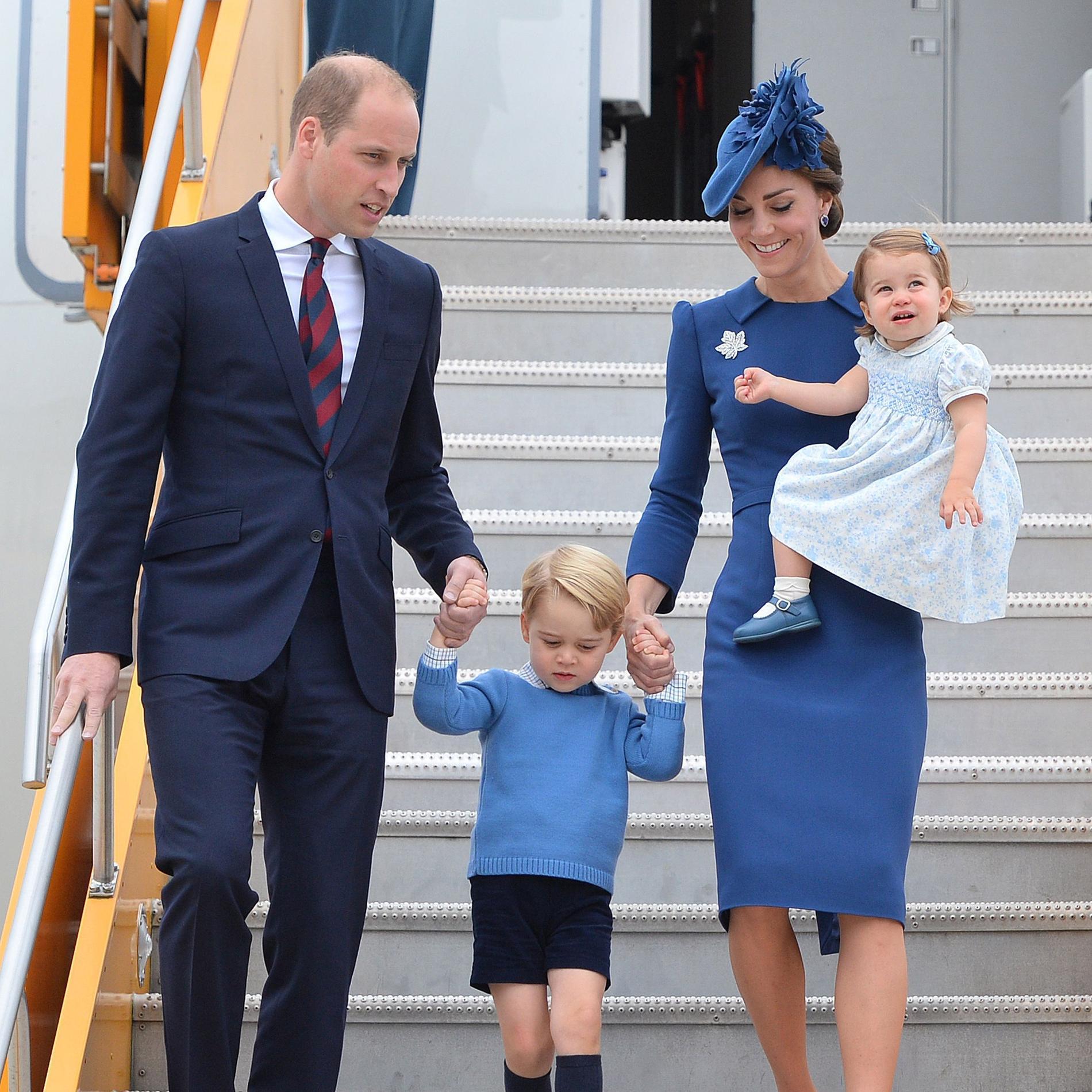Kate et William bousculent le protocole royal quant à l'éducation de leurs enfants