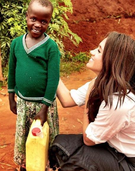 Meghan Markle au Rwanda