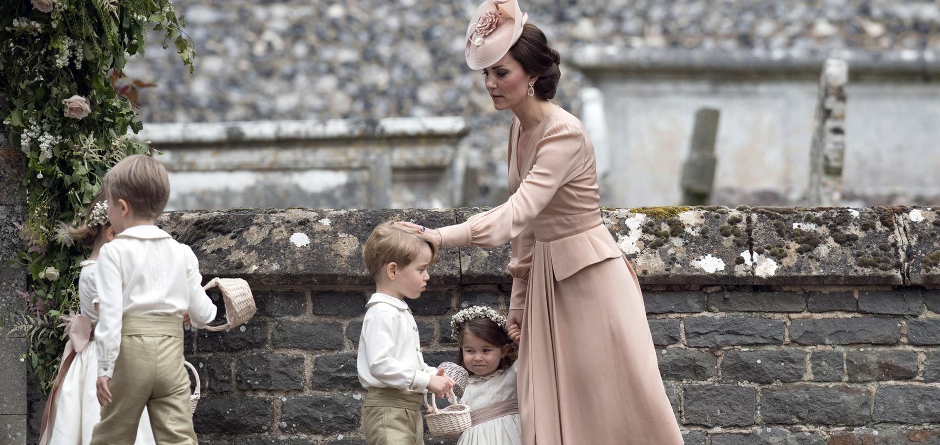 Pourquoi le prince George a-t-il pleuré au mariage de Pippa Middleton?