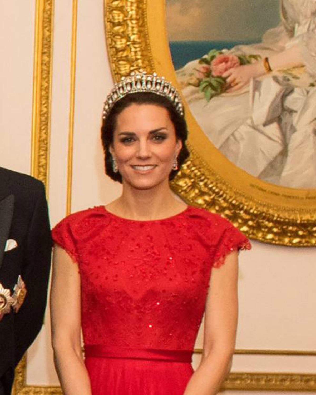 Kate Middleton rayonne avec la tiare de Diana