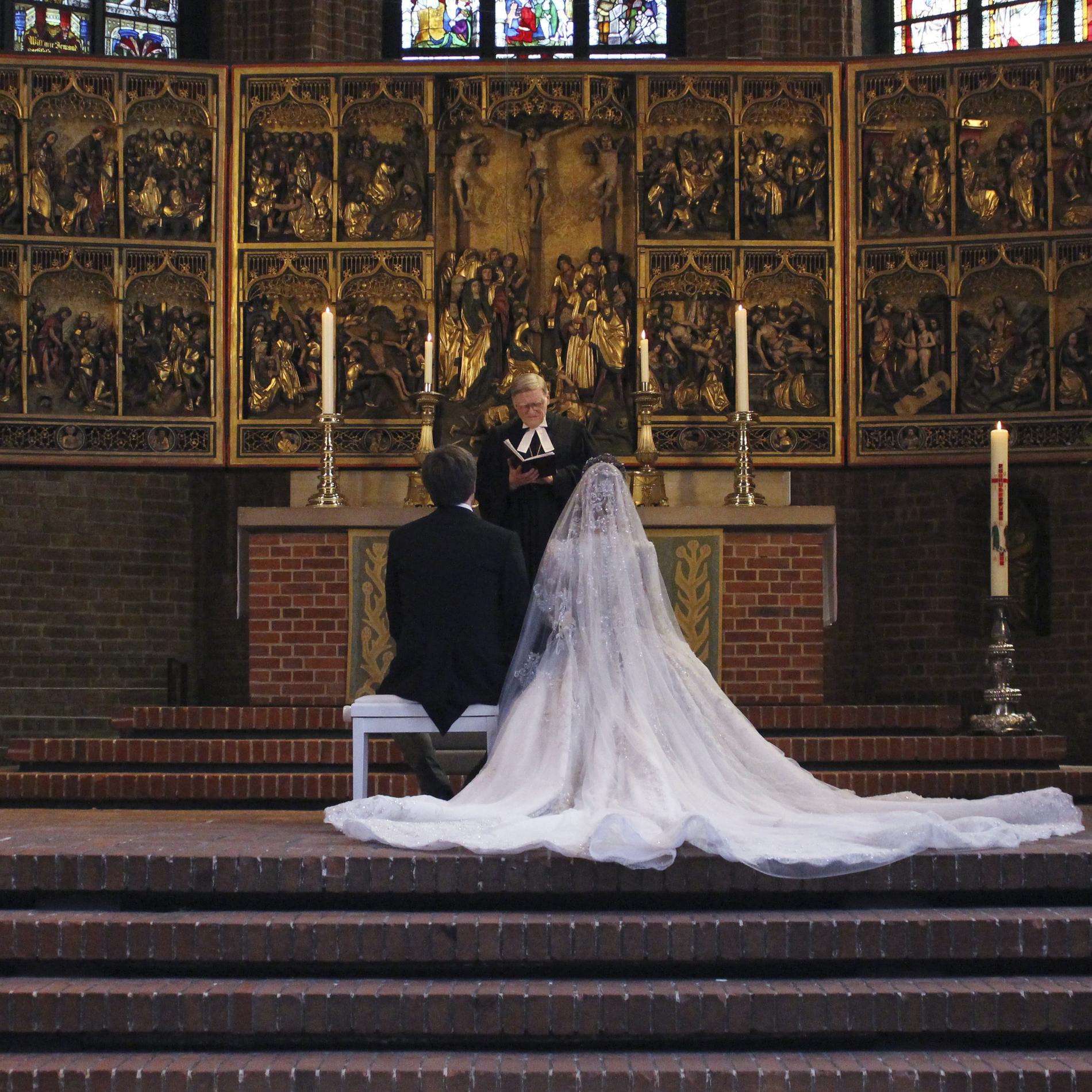 Le mariage princier de Ernst August de Hanovre Jr. et Ekaterina Malysheva