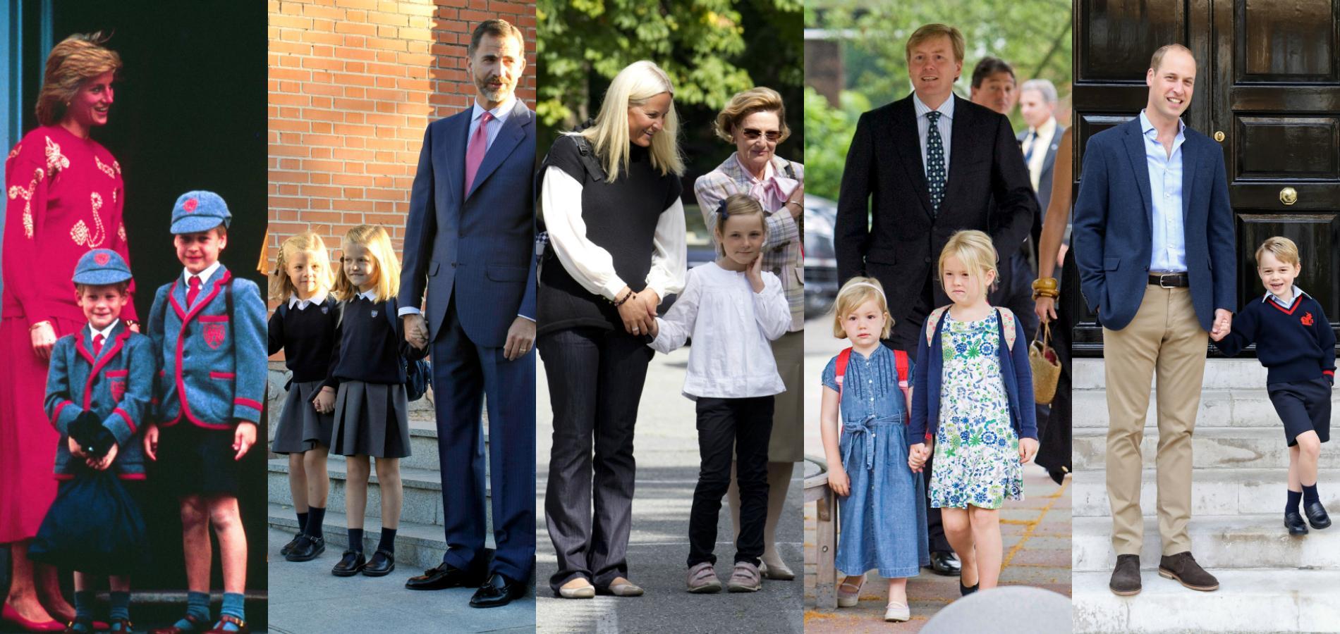 En images, retour sur les rentrées des classes des princes et des princesses