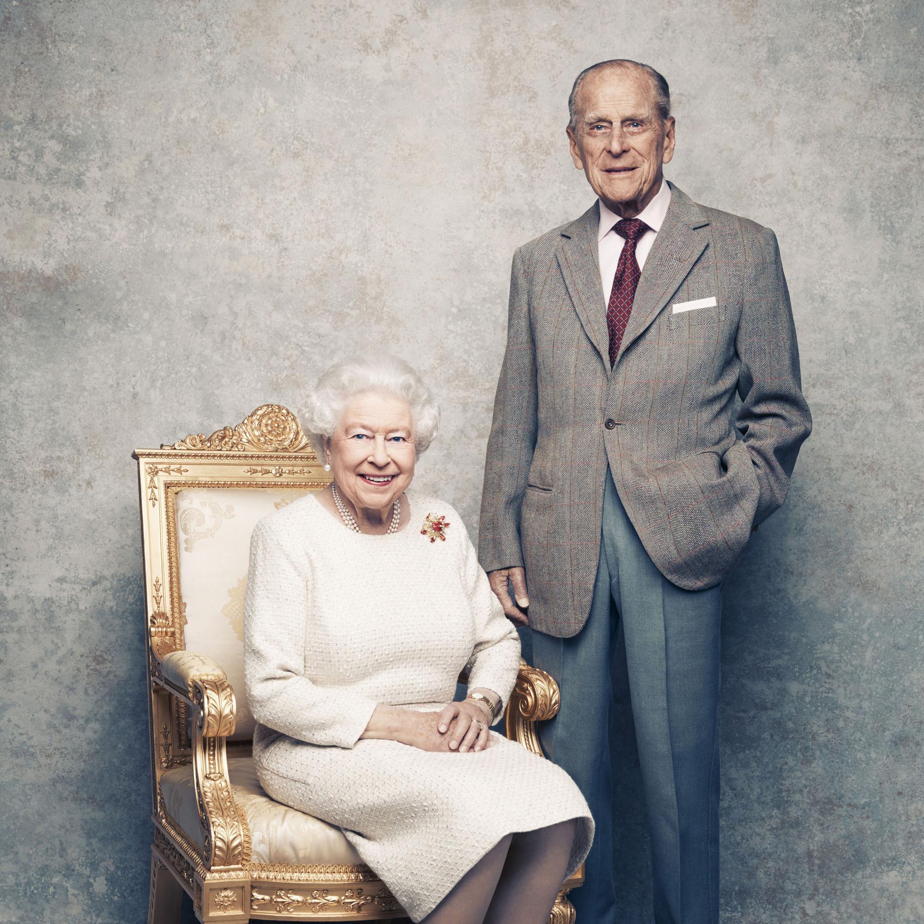 En photos, les 70 ans de mariage de la reine Elizabeth II et du prince Philip - photo 2
