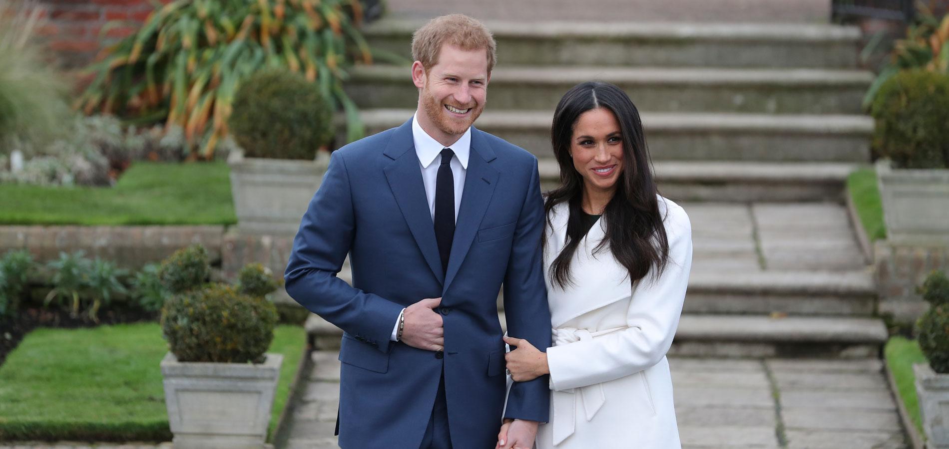 Le prince Harry et Meghan Markle officialisent leurs fiançailles dans les jardins de Kensington