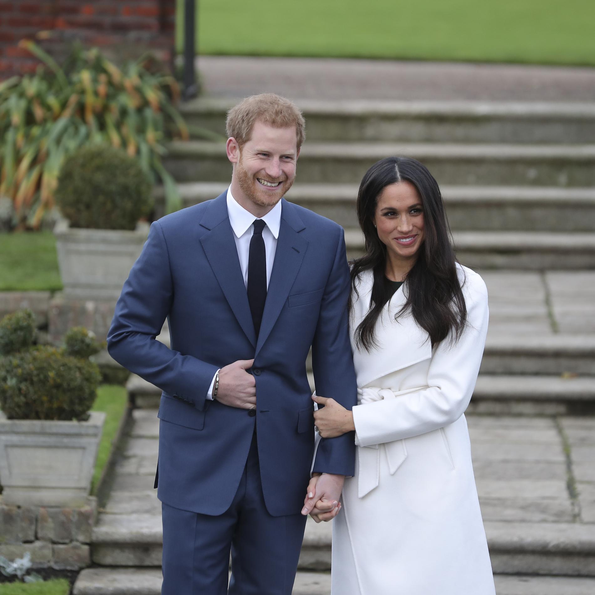 Les fiançailles du prince Harry et de Meghan Markle en photos