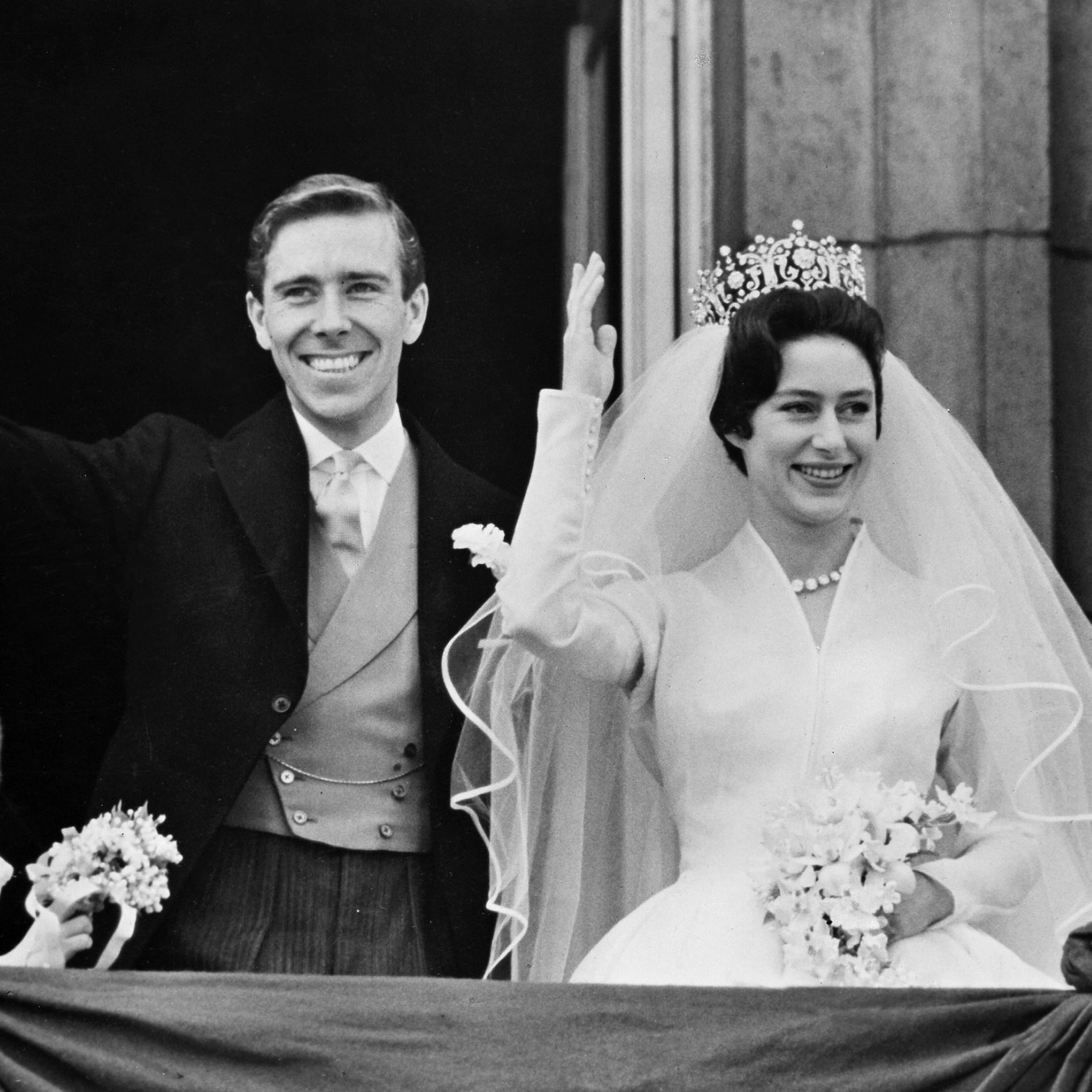 Le mariage de la princesse Margaret