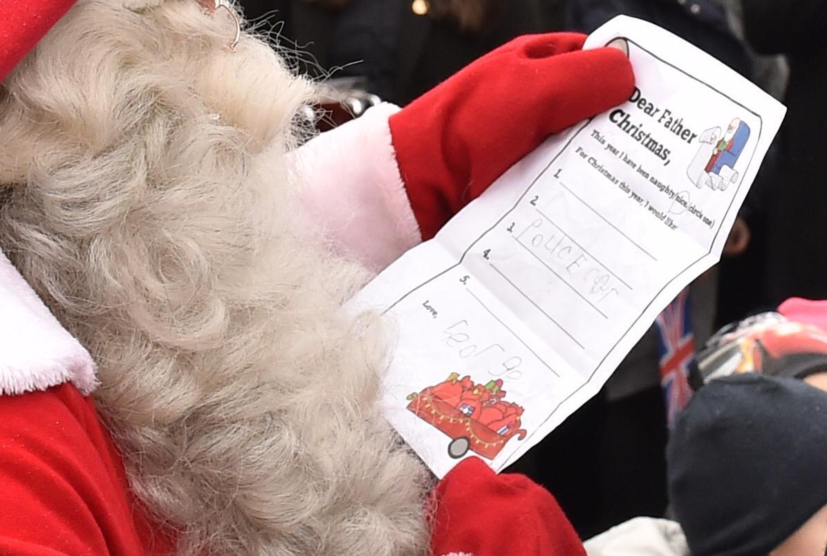 Le prince George a demandé une voiture de police pour Noël