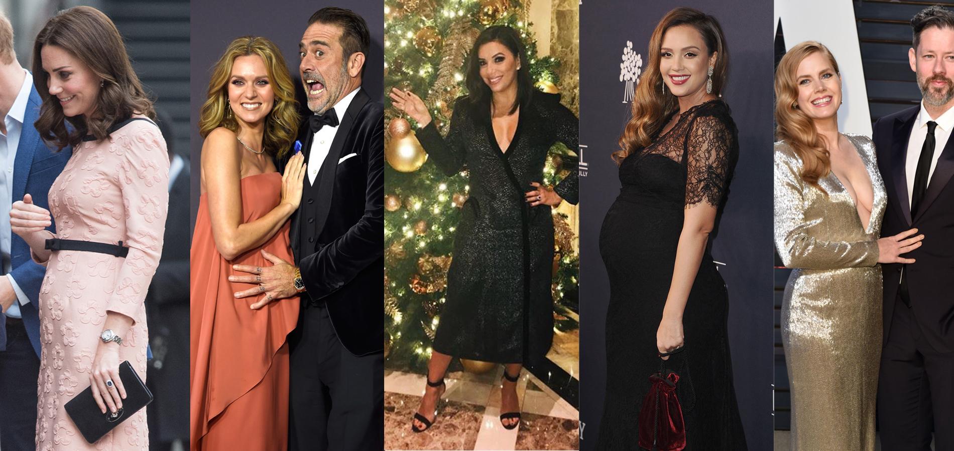 Kate Middleton, Eva Longoria, Kirsten Dunst... Les naissances les plus attendues en 2018