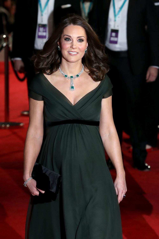 Pourquoi Kate Middleton ne portait pas de noir à la cérémonie des Bafta