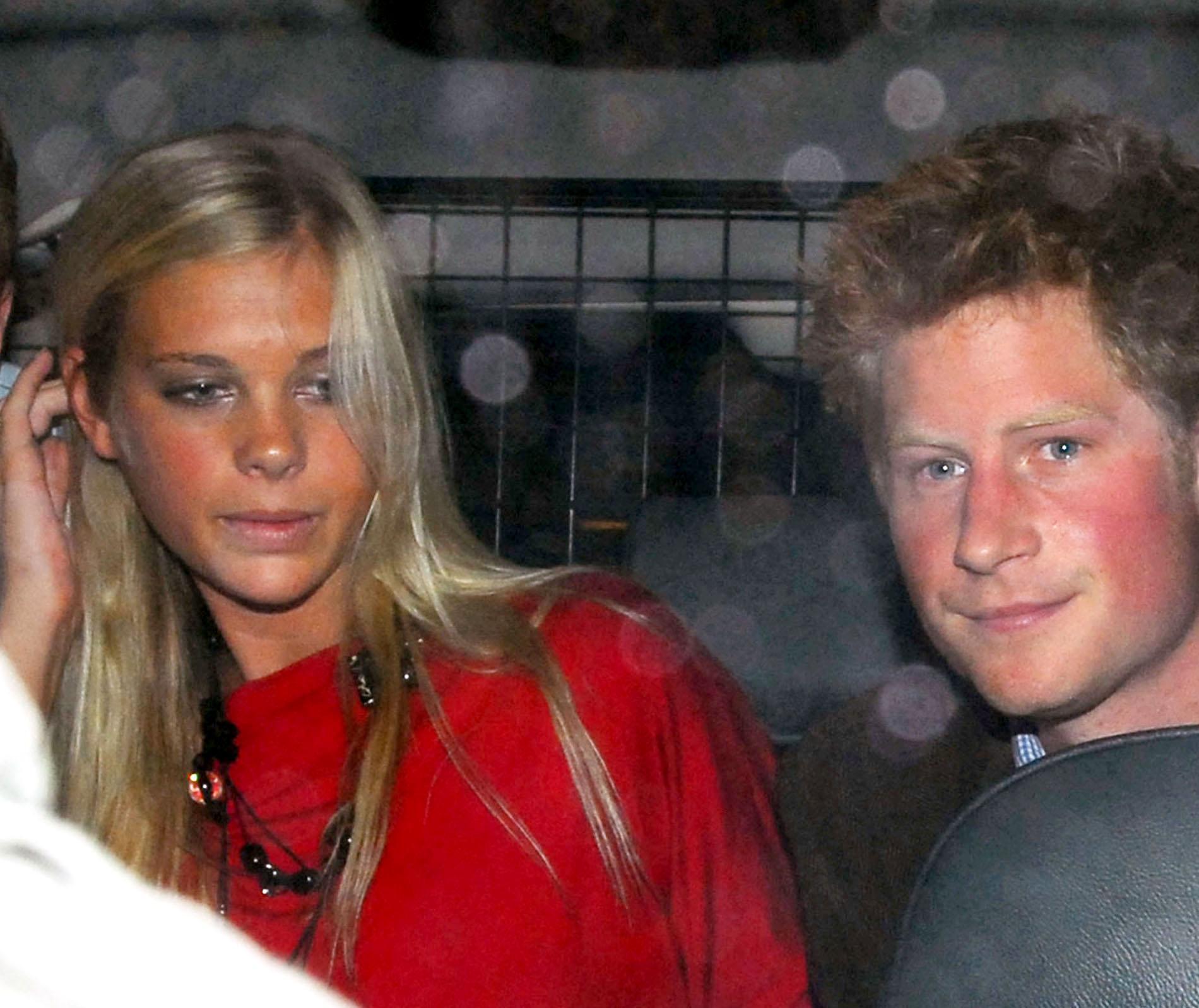 Chelsy Davy et le prince Harry en 2007