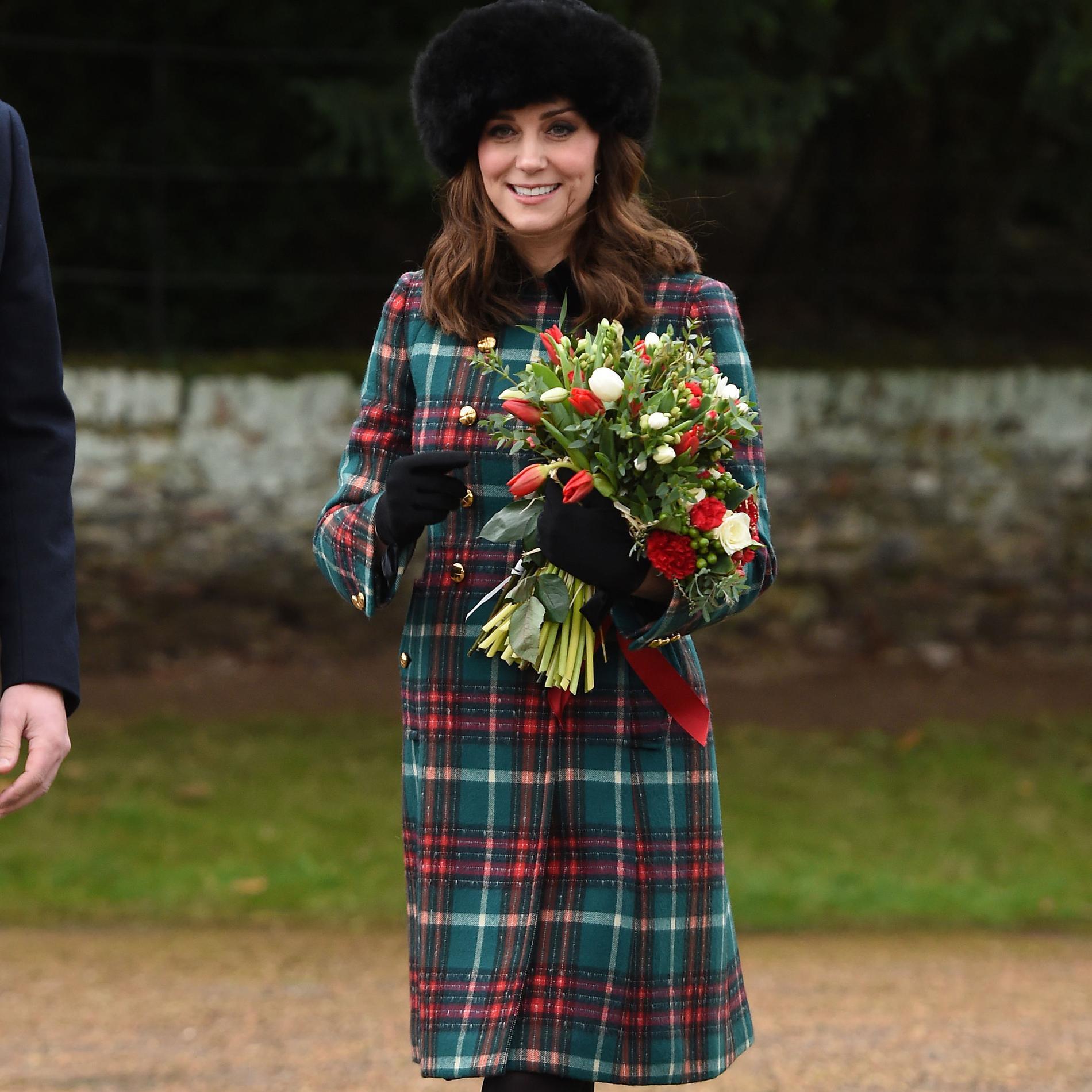 Le style de Kate Middleton durant sa troisième grossesse - Noël avec style