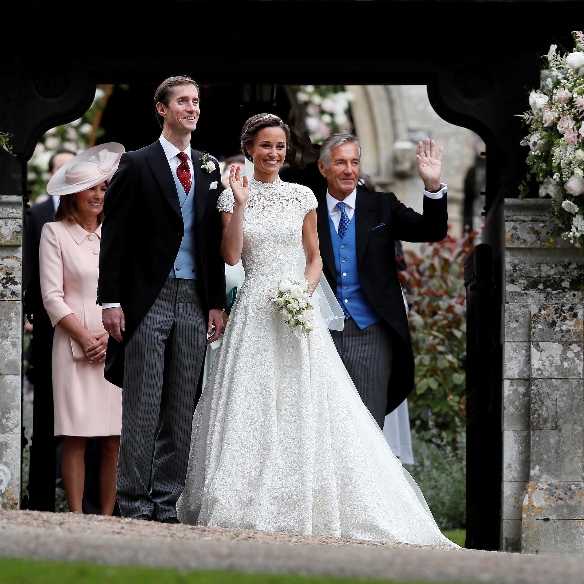 David Matthews au mariage de Pippa Middleton