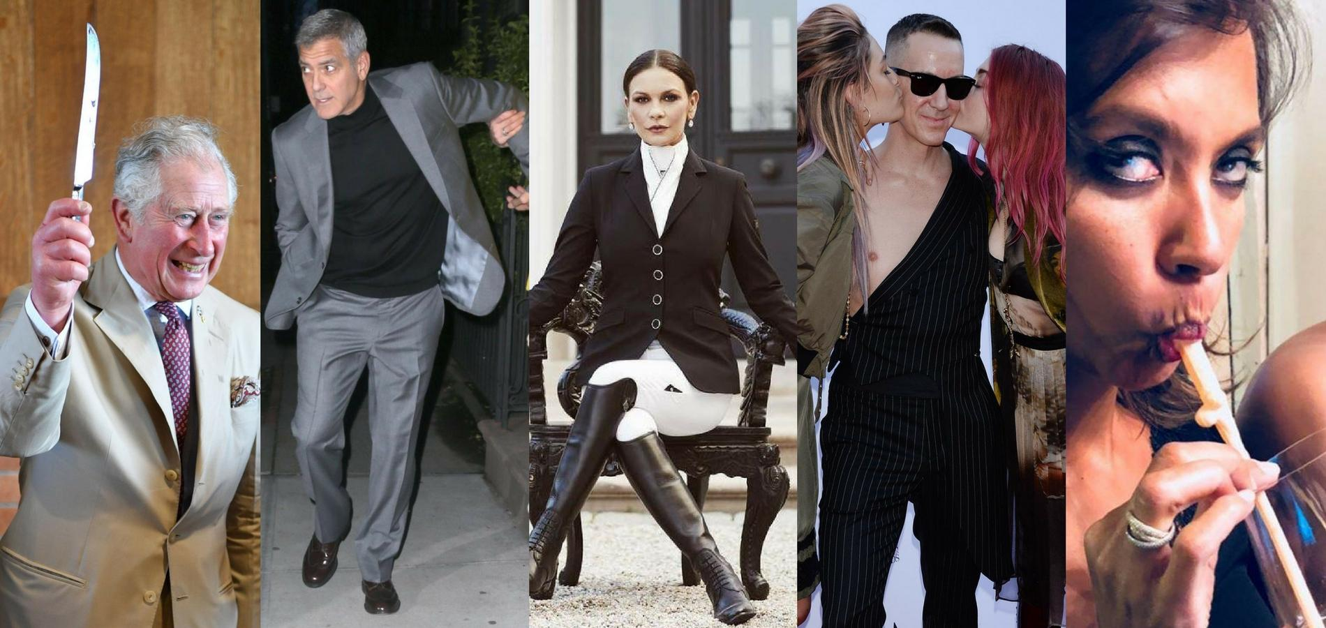 George Clooney, Karine Le Marchand, le prince Charles : la semaine people
