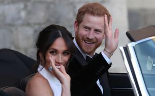 Meghan Markle arbore une bague de Lady Diana à sa réception de mariage