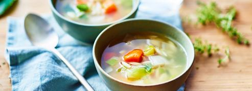 Version gastronomique ou version détox, tout est bon dans le bouillon !