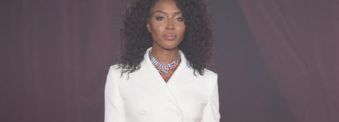 Naomi Campbell défile pour Off-White dans une tenue hommage à Lady Diana