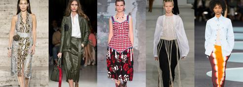 Flamboyance et panache sont de retour à la Fashion Week de Milan