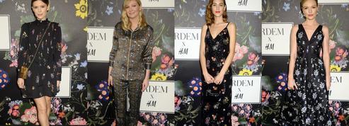 Kate Mara, Kirsten Dunst, Alexa Chung... Les stars craquent pour la collection Erdem & H&M