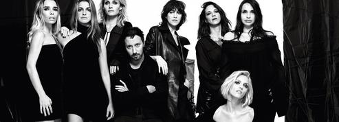 Charlotte Gainsbourg, Anja Rubik, Asia Argento... Anthony Vaccarello pose avec ses muses